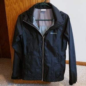 Black Columbia Rain Jacket